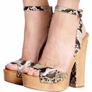Alexandre Birman Zoee Python Sandals
